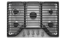 Whirlpool WCG97US0DS 30  Stainless 5 Burner E Z Lift Gas Cooktop  29839