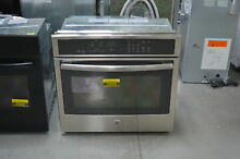GE PT9050SFSS 30  Stainless Single Electric Wall Oven NOB  25055 HL