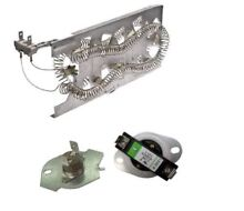 Dryer Heating Element and Thermostat Set for Whirlpool Kenmore 3387747 279769