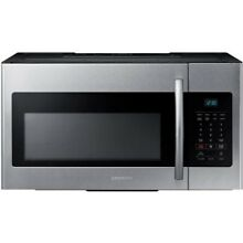 Samsung ME16H702SES 1 6 cu  ft  Over the Range Microwave Oven Local Pick Up
