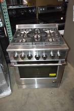DCS RGV305N 30  Stainless Pro Style Slide In Gas Range  23532 MAD