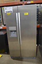 Whirlpool WRS325FDAM 36  Stainless Side by Side Refrigerator NOB  15956 MAD