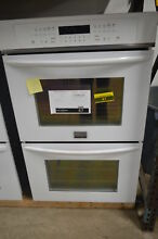 Frigidaire FGET3065PW 30  White Double Electric Wall Oven NOB  47 MAD