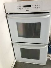 Kenmore Double Electric Wall Oven White