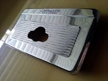 1955 GE Stratoliner chrome bezel cover for automatic surface unit vintage oven
