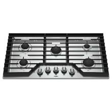 Whirlpool WCG97US6HS 36  Gas Cooktop Stainless 5 Burner  30094 HRT