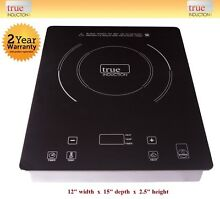 Cooktop True Induction TI 1B   Single Burner Cook top   Counter Inset