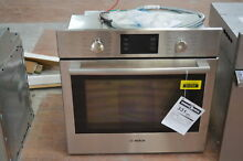 Bosch 500 HBL5451UC 30  Stainless Single Convection Electric Wall Oven 30171 HRT