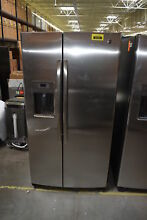 GE GSE25GSHSS 36  Stainless Side By Side Refrigerator  30038 HRT
