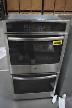GE JK5500SFSS 27  Stainless Double Electric Wall Oven NOB  30193 HRT