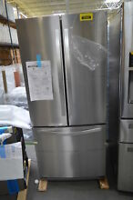 Whirlpool WRF560SEYM 30  Stainless French Door Refrigerator  29565