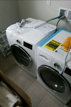 BRAND NEW Bosch 800 Series Washer Dryer Set WAT28402UC   WTG86402UC