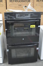 GE JT3500DFBB 30  Double Electric Wall Oven Self Cleaning NOB  30669 HRT