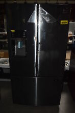 Samsung RF28HDEDBSG 36  Black Stainless French Door Refrigerator  30796 HRT