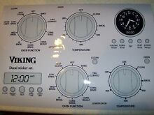Viking single and double oven fascia sticker set  fits many  shipping worldwide