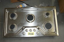 GE PGP7036SLSS 36  Stainless Built In Gas Cooktop NOB  30973 HRT
