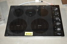 Whirlpool WCE77US0HB 30  Black Smoothtop Electric Cooktop NOB  31025 HRT