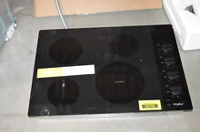 Whirlpool WCE55US0HB 30  Black Electric Cooktop NOB  31028 HRT
