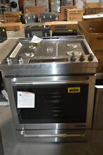 Jenn Air JGS1450FP 30  Stainless Slide In Gas Range NOB  31040 MAD