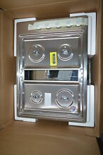 KitchenAid KCGD500GSS 30  Stainless Downdraft Gas Cooktop NOB  31526 HRT