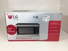 LG LCRT2010ST 2 0 Cu Ft Counter Top Microwave Oven Easy Clean Stainless Steel