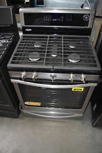 Whirlpool WFG770H0FZ 30  Stainless Freestanding Gas Range NOB  31799 CLW