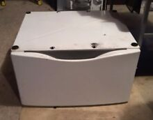 Whirlpool Washing Machine Pedestal White
