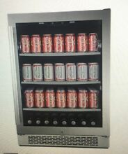 Avallon ABR 241 Sgrh 152 Can 24  Built in Beverage Cooler Right Hinge