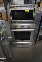 Thermador PODMW301J 30  Stainless Triple Combination Wall Oven NOB  32058 MAD
