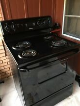 Hotpoint stove  black