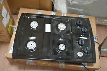 Whirlpool W3CG3014XB 30  Black Gas 4 Burner Cooktop NOB  27986 HRT