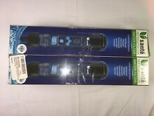 Upsante Refrigerator Water Filter for Whirlpool 4396841 4396710 EDR3RX1 4 Pack