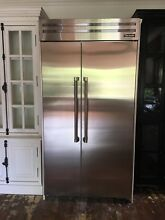 Thermador 42 Inch Built in Side by Side Refrigerator T42BR820NS