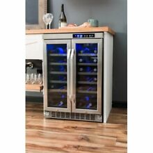 EdgeStar 36 Bottle Built In Dual Zone Wine Cooler
