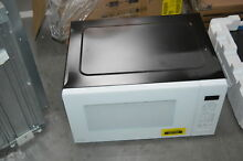 GE PEB7227DLWW 24  White Built In Microwave Oven NOB  31063 HRT