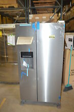 Whirlpool WRS576FIDM 36  Stainless Side by Side Refrigerator T2 NOB  15791 CLW