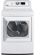 GE PTDS850EMWW 27  White Front Load Electric Steam Dryer NIB  4063