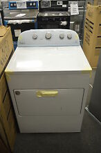 Whirlpool WED49STBW 30 White Front Load Electric Dryer NOB T 2  15169 CLW