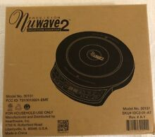 Precision Nuwave 2 Induction Cooktop Model No  30151 New In Box