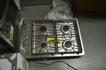 GE JGP329SETSS 30  Stainless 4 Burner Gas Cooktop NOB  32318 CLW