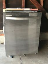 Kenmore Builtin Dishwasher   Stainless steel  24 inches  slightly used