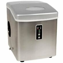 Edgestar IP210SS1 Portable Ice Maker  Stainless Steel Silver