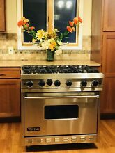 Viking Range 36  VGRC367 6BSS Pro All Gas  6 Sealed burners  Large Oven