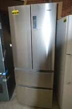 Haier HRF15N3AGS 28  Stainless French Door Refrigerator NOB  32533 HRT