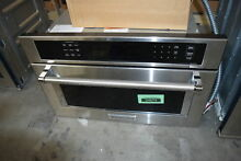 KitchenAid KMBP107ESS 27  Stainless Built In Microwave Oven NOB  32566 HRT