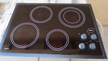 DACOR CER304B 30  ELECTRIC COOKTOP