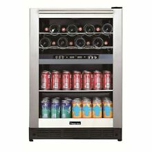 Dual Zone Built In Wine and Beverage Cooler