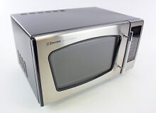 Emerson MW8992SB 0 9 Cu  Ft  900 W Touch Control Stainless Steel Microwave Oven
