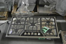 Thermador SGSX365FS 36  Stainless 5 Burner Gas Cooktop NOB  32802 HRT