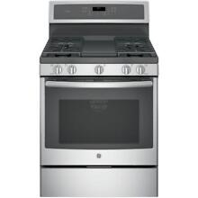 GE PGB911SEJSS 30  Stainless Gas Range w  Griddle Convection NIB  32817 HRT